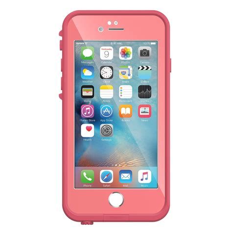 www iphone 6 lifeproof fre for iphone 6 6s sunset pink