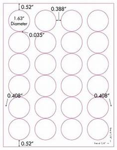 glossy clear printable labels 50 sheets 1 5 8 inch round 4260c With clear round printable stickers