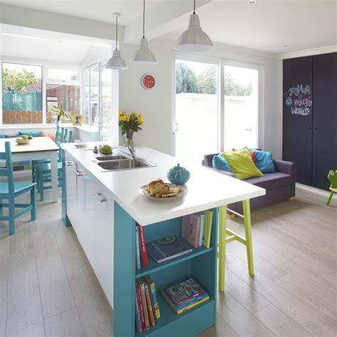 kitchen design open plan open plan kitchen design ideas ideal home 4530