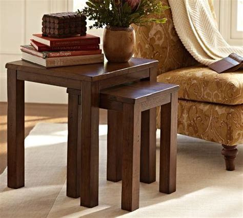 Pottery Barn Nesting Tables by Newton Nesting Tables Pottery Barn