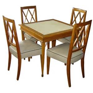 coastal dining room sets wood card table and chairs set marceladick