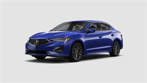 what colors does the new 2019 acura ilx come in