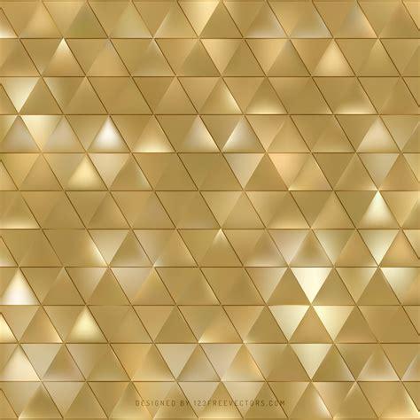 gold geometric triangle background