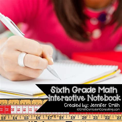 6th Grade Interactive Notebook Bundle - All Standards ...