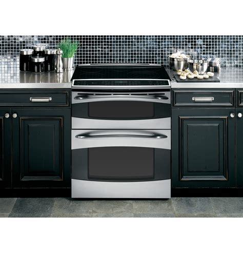 ge profile   double oven electric range psstss ge appliances