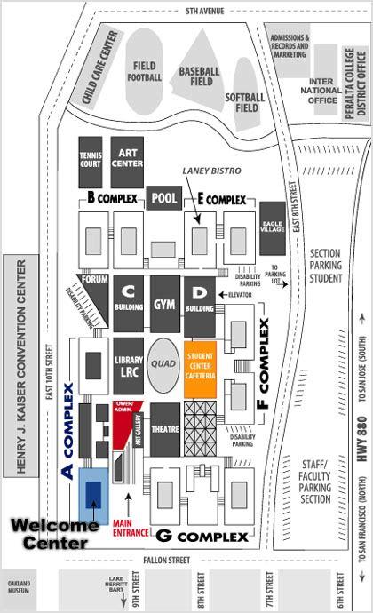 campus map laney college media dept laney college media