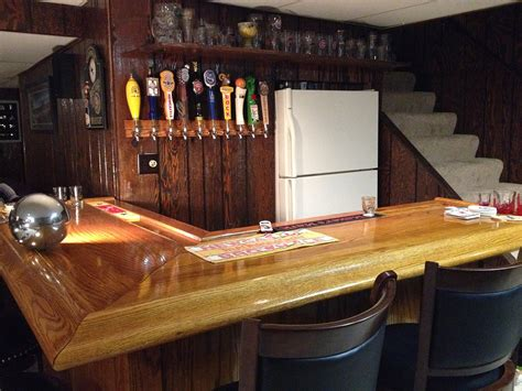 Home Bar Size by Diy How To Build Your Own Oak Home Bar
