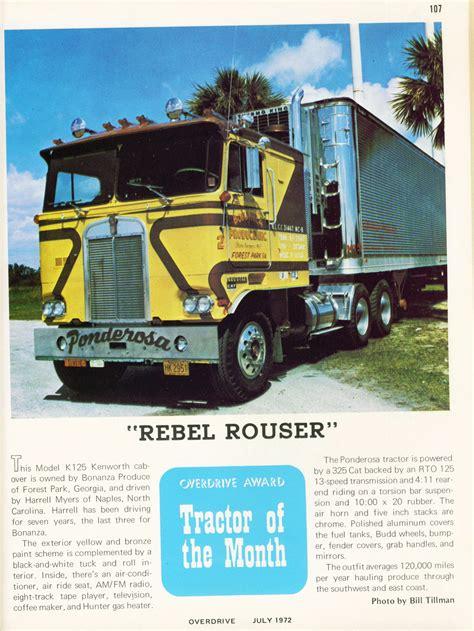 overdrive magazine 1972 trucker 1973 american april voice flashbak