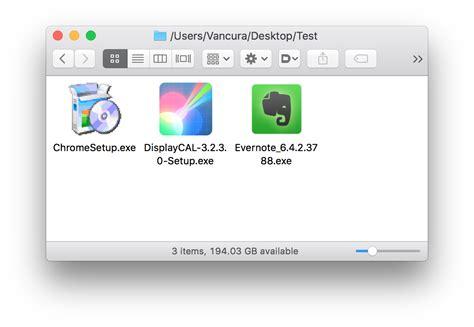 Resume Setup Exle macos 10 12 4 properly displays icons for windows