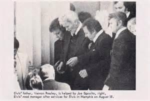 Vernon Presley at Elvis Funeral