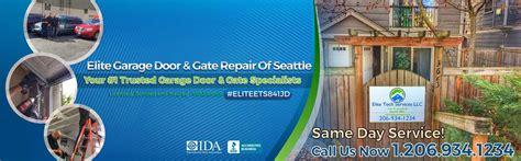 garage door repair lynnwood wa elite 174 garage door gate repair of seattle wa king county