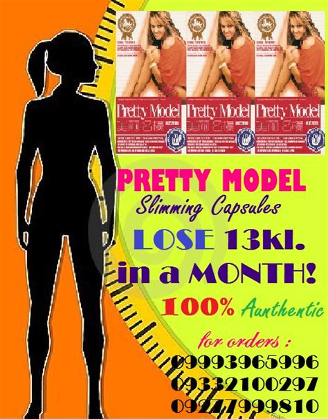 Pretty Model Slimming Capsules Slimming And Whitening