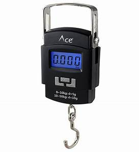Ace Digital Hanging Cylinder Raddi Luggage Weighing
