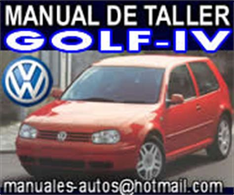 manual de reparacion volkswagen golf iv