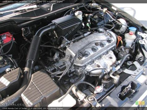 4 6 Liter Sohc Engine Diagram by 1 6 Liter Sohc 16v 4 Cylinder Engine For The 1998 Honda