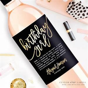custom birthday wine label custom wine label personalized With customized wine labels free