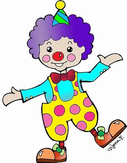 Circus Clown Crafts Clip She Lot Fun