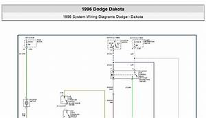 Dodge Dakota 1996 System Wiring Diagrams