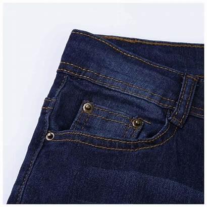 Ripped Jeans Skinny Waist Denim Pants Erbana88