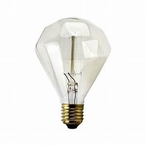 Ampoule Filament Vintage : filament vintage en forme de diamant ampoule g95 40w e27 ~ Edinachiropracticcenter.com Idées de Décoration