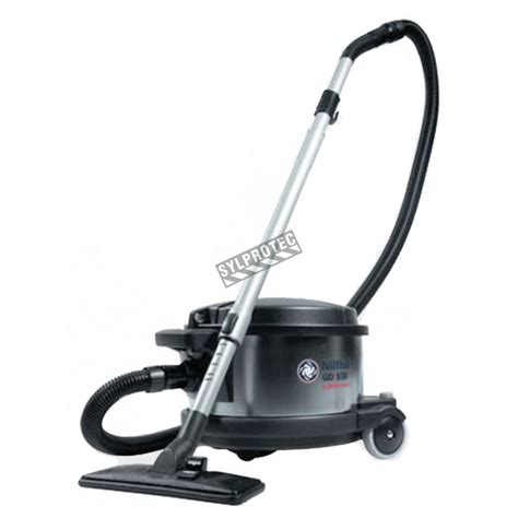 nilfisk industrial canister vacuum cleaner  abatement