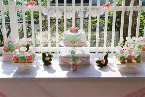 shabby chic baby boy shower ideas vintage bunny shabby chic baby shower party ideas photo 1 of 7 catch my party