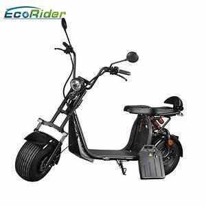 Scooter Electrique 2018 : citycoco 1500w 2018 nouveau mod le 2 roues gros pneu scooter lectrique hors route avec ~ Medecine-chirurgie-esthetiques.com Avis de Voitures