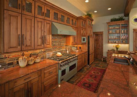 kitchen rustic kitchen  fedewa custom works