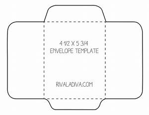 envelope template envelope template for 85 x 11 paper With mailer format template