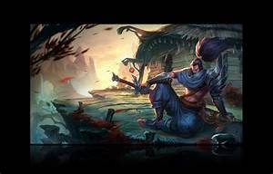 League of Legends Yasuo Wallpaper [#36] by ErYera on ...