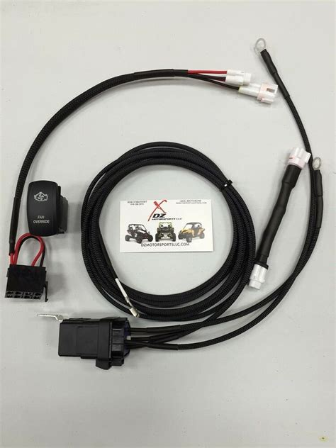 Yamaha Yxz Fan Override Wiring Harness Kit Ebay