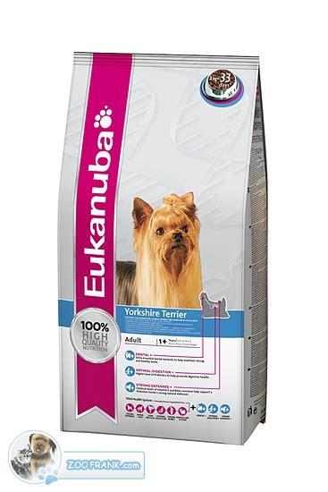 eukanuba yorkshire terrier hundefutter hundefutter