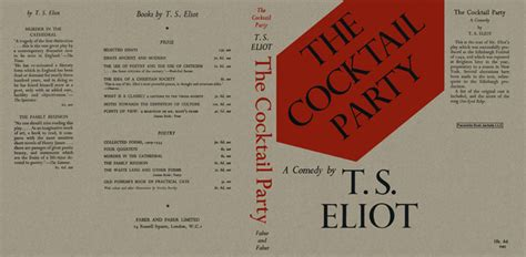 Cocktail Party, The  T S Eliot