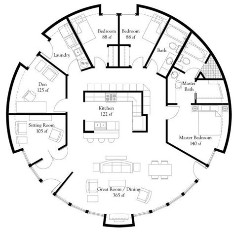 dome homes floor plans luxury monolithic dome home floor plans  engineer  aspect  home