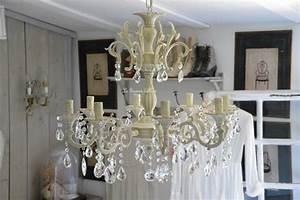 Lustre Pampilles Cristal : lustre patin pampilles cristal lustre romantique et shabby chic boutique ~ Teatrodelosmanantiales.com Idées de Décoration