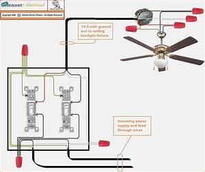 Hook Up Ceiling Fan 4 Wires  4 Wire Ceiling Fan Switch