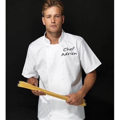 tablier cuisine homme personnalisé veste de cuisine personnalisée homme