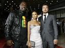 Celebrities attended the 'RocknRolla' movie premiere ...