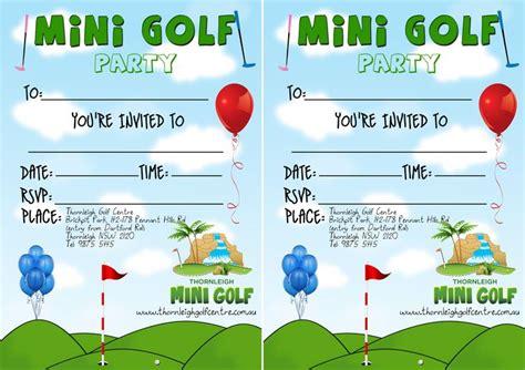 einladungskarten minigolf kostenlos einladungskarten