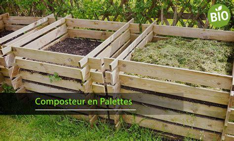 fabriquer composteur palette fabriquer un composteur en bois astuces en ligne
