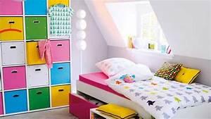 Rangement Chambre Enfants : une chambre d enfant pratique ~ Melissatoandfro.com Idées de Décoration