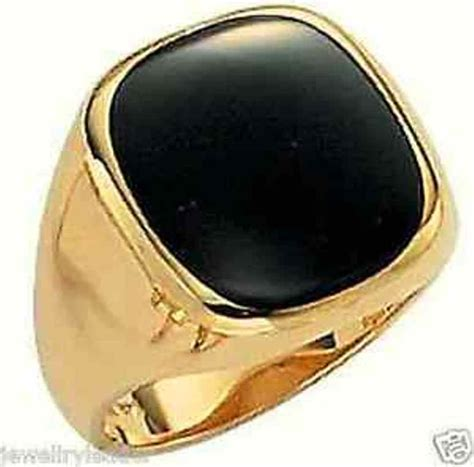 mens ringsk yellow  white  rose solid gold square
