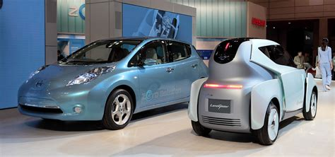 Nissan Electric Car by Nissan Electric Vehicles