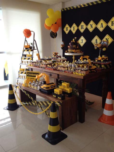 25 melhores ideias sobre festa de caminh 227 o no festa tema de constru 231 227 o temas