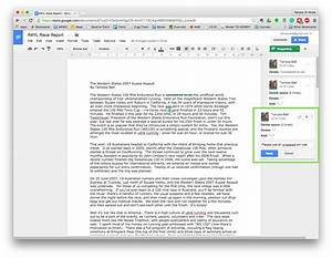 editing and collaborating in google docs australian With edit google docs in word
