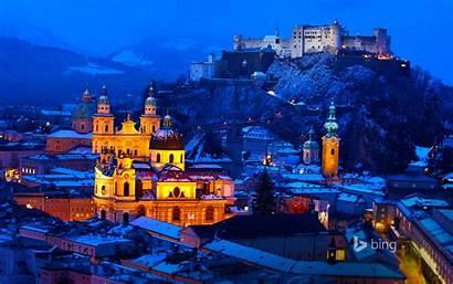 Bing Austria Desktop Salzburg Fairy Tale Winter