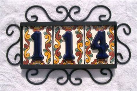 28 mexican tile house numbers copper sinks and mexican tile in ventura county camarillo