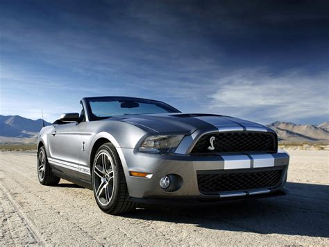 Ford Mustang Shelby Gt500 Convertible 2009 2018 2018
