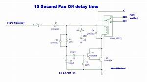 10 Second Delay Timer Circuit By Transistor