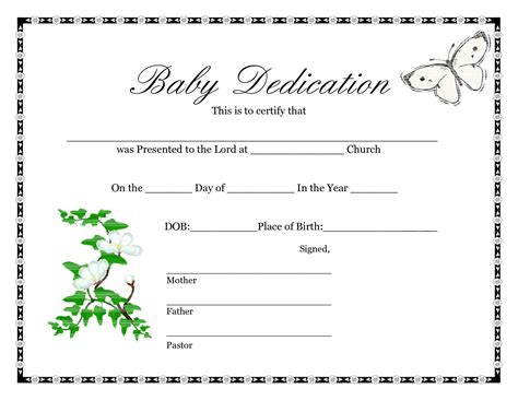 Birth Certificate Template Birth Certificate Template Template Trakore Document